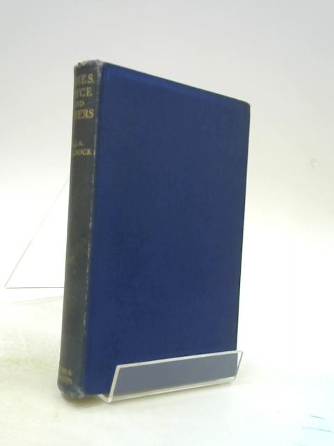 James, Joyce And Others by WALDOCK, A. J. A.