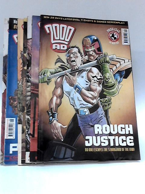 2000 ad (Issues #1340 14th May 2003 - #1346 25 June 2003) by Anon