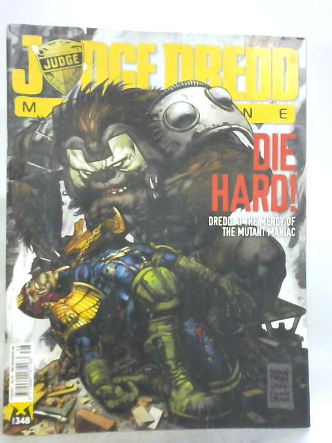 Judge Dredd Megazine, No. 348, 17th June 2014 by T. C. Eglington