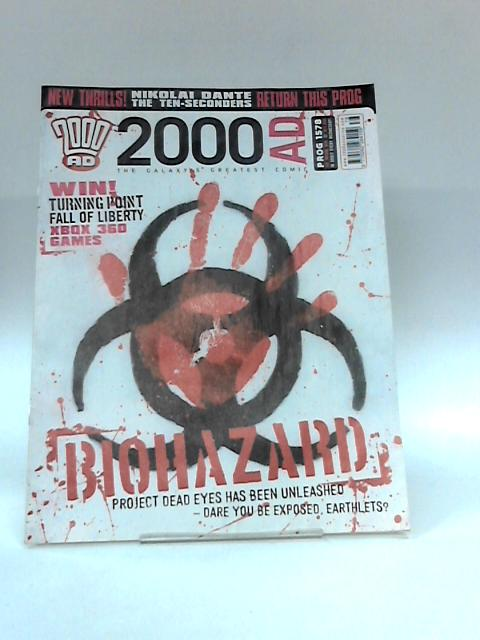 2000 ad Issue 1578 (19 March 2008) biohazard by Anon