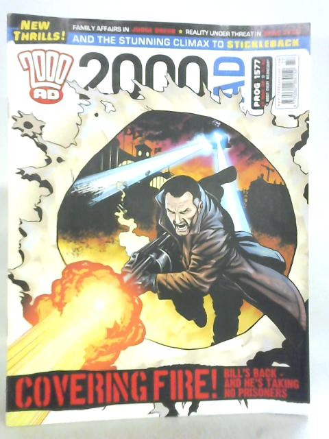 2000AD, No. 1577, 12th March 2008 by John Wagner