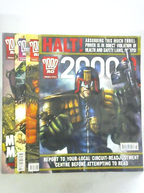 2000AD, No. 1723-1726, 2nd-23rd March 2011 by Al Ewing et al