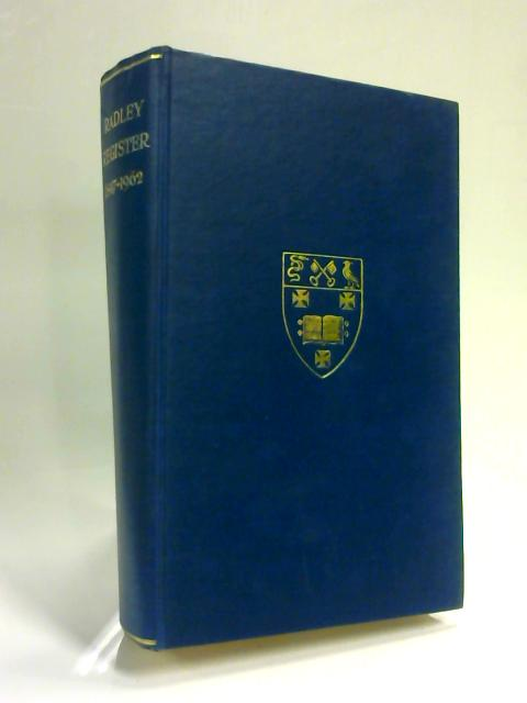 St Peter's College Radley Register 1847-1962 by Anon