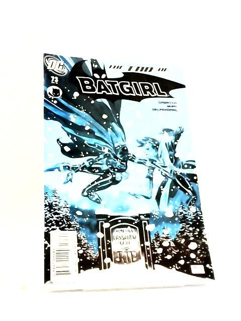 Batgirl No.73 The End of Batgirl by Gabrych et al