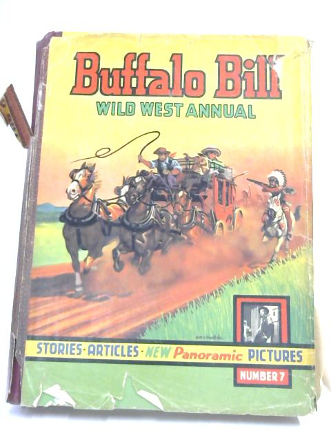 Buffalo Bill Wild West Annual no. 7 by Rex James,