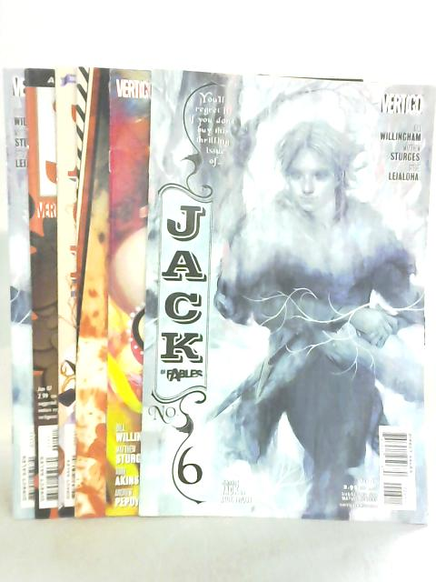 Jack of Fables Issues 6, 7, 8, 9, 10, 11 by Bill Willingham et al