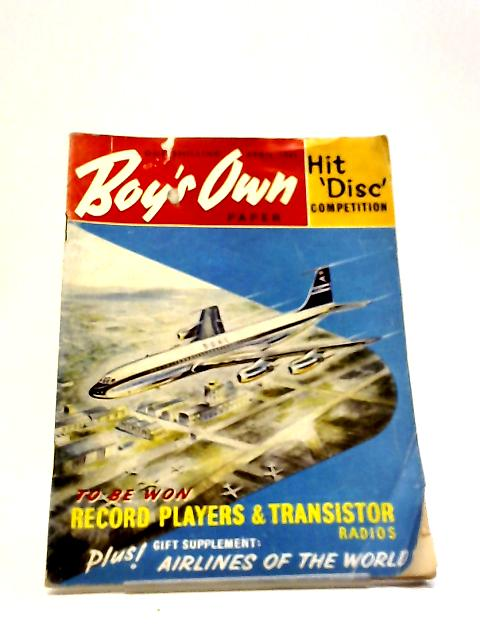 Boys Own Paper April 1961 by Various