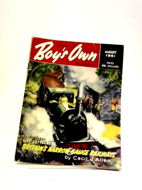 Boys Own Paper August 1961 by Various
