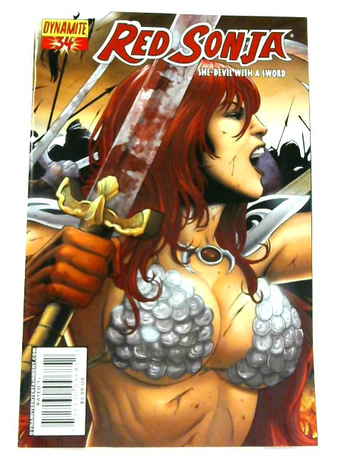 Red Sonja: She- Devil with a Sword No. 34 by Brian Reed