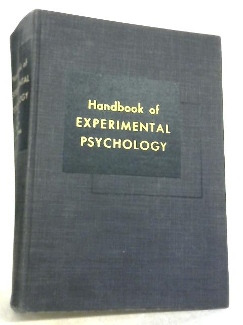Handbook of Experimental Psychology by S. S. Stevens