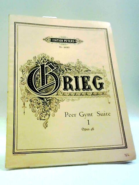 Peer Gynt Suite I Opus 46 (For Piano) by Grieg