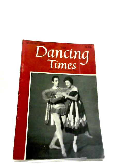 Dancing Times August 1954 by P.J.S.Richardson