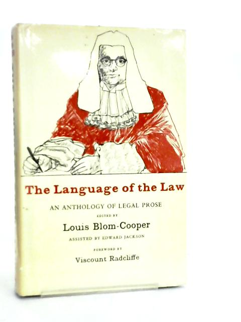 The Language of the Law by Louis Blom-Cooper