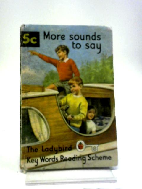 More Sounds To Say (Key Words Reading Scheme) Book 5C by W. Murray