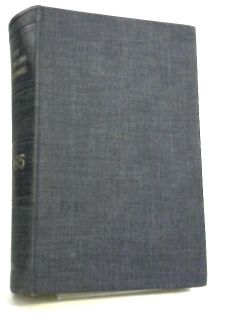 The All England Law Reports 1965 Volume I by C. King