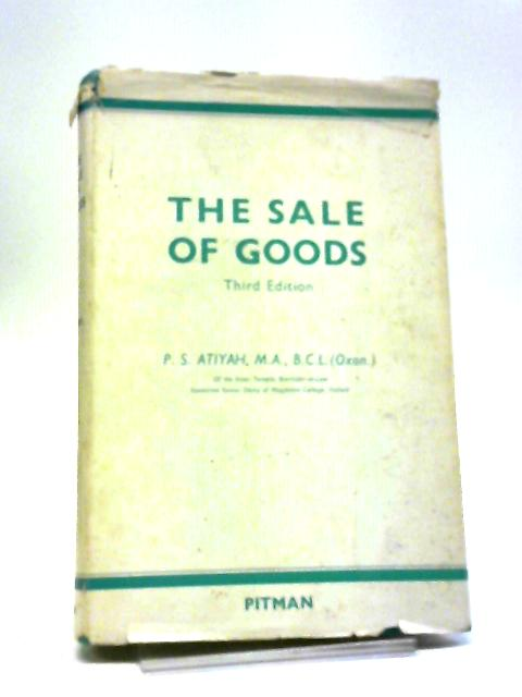 The Sale Of Goods by P.S.Atiyah