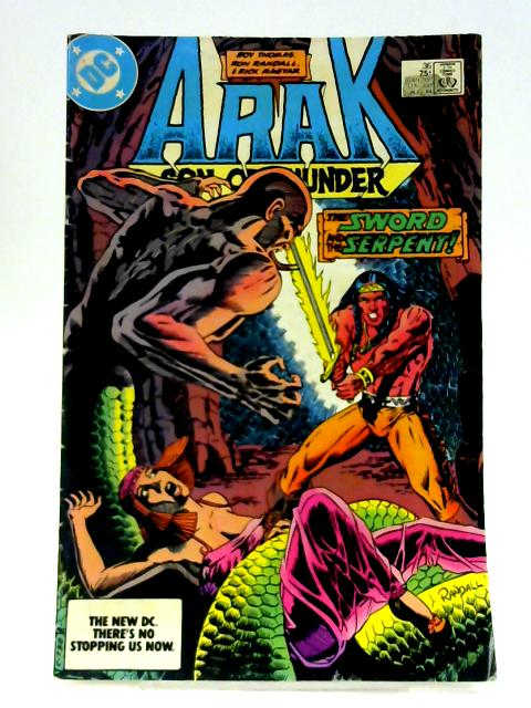Arak Son of Thunder: No. 36 By Roy Thomas