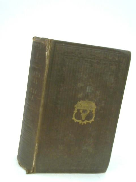 The Poetical Works of James Thomson Comprising All His Pastoral, Dramatic, Lyrical and Didactic Poems and a Few of His Juvenile Productions By Thomson, James