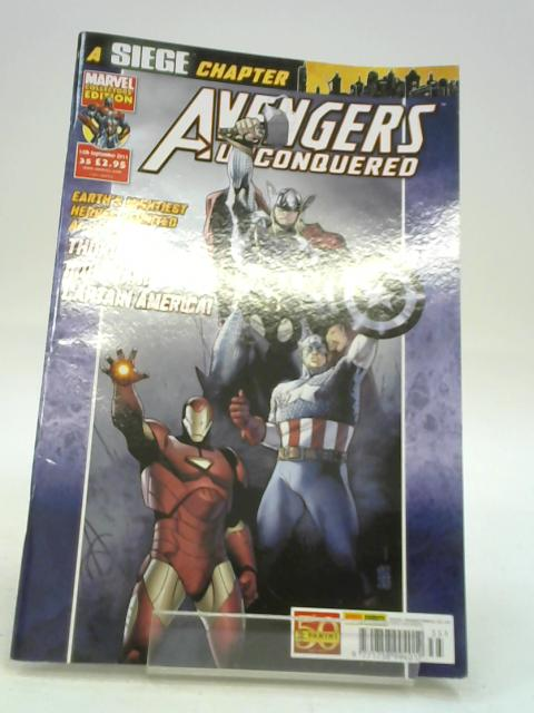 Avengers unconquered Issue 35 By unknown