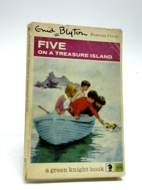 Five on a treasure island (Knight books, green knight series) by Blyton, Enid