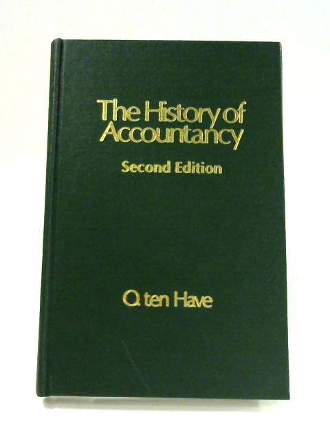 The History of Accountancy By O. T. Have