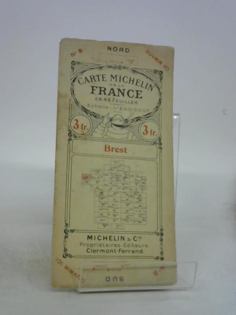 Carte michelin de la france en 48 feuilles brest By Anon