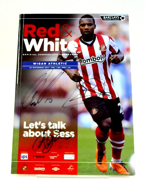 Red & White Official Sunderland Programme: 26 November 2011 By Unknown