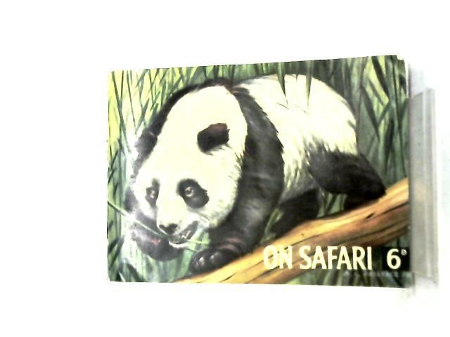 On Safari, Mammals - Horniman tea cards complete 48 set By Desmond Morris