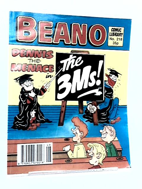 Beano : Comic Library No. 218 by Not Credited