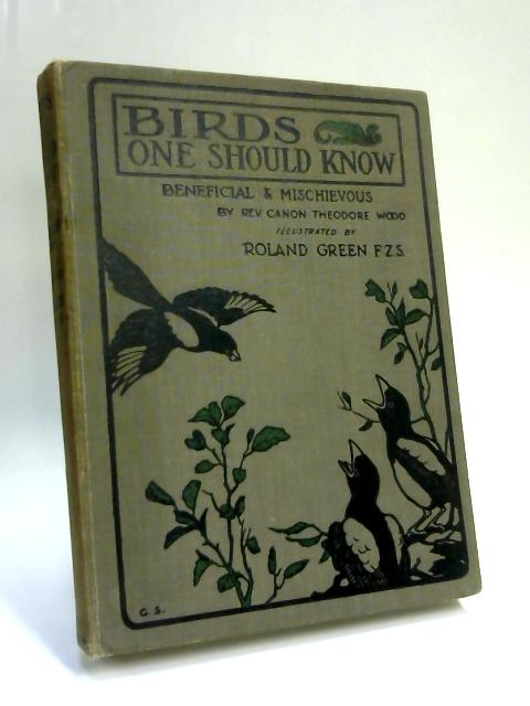 Birds one should know by C. T. Wood