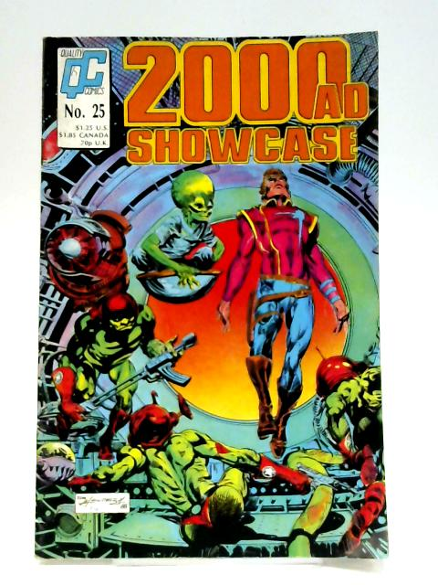 2000 AD Showcase: No. 25 By Unknown