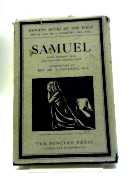 Samuel by Dr. S. Goldman