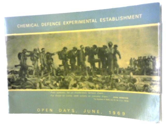 Chemical Defence Experimental Establishment, Open Days, June 1969 by Unknown