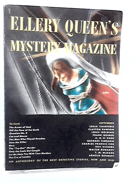 Ellery Queen Magazine Vol 14 No.70 by E.Queen