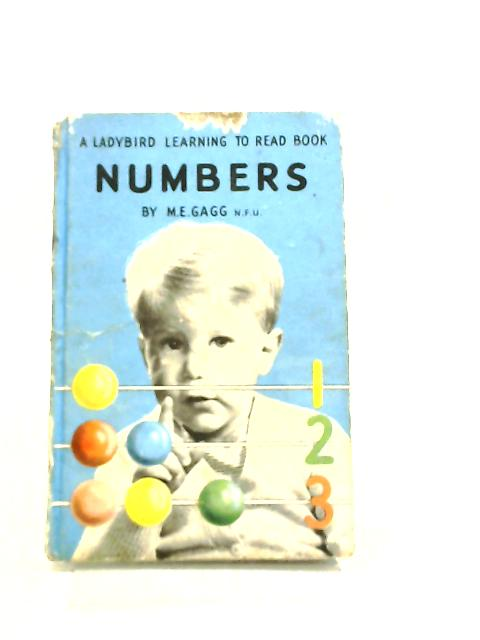 Numbers A Ladybird Learning to Read Book by Margaret Elise Gagg