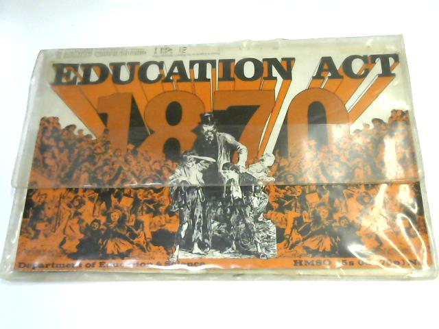 The Education Act Teachers Pack by A. H. Howlett