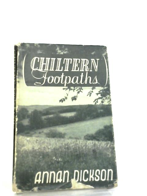 Chiltern Footpaths by Annan Dickson