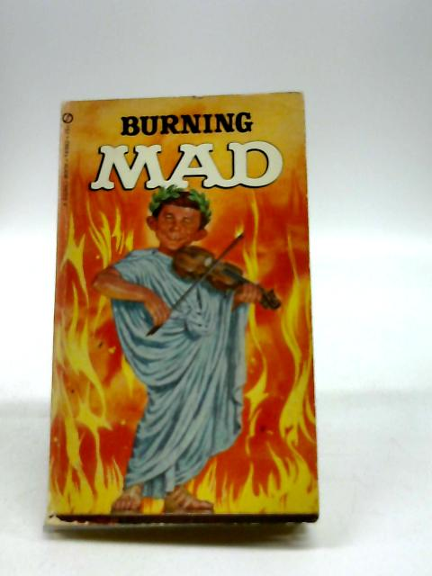 Title: Burning Mad by Gaines, William M.