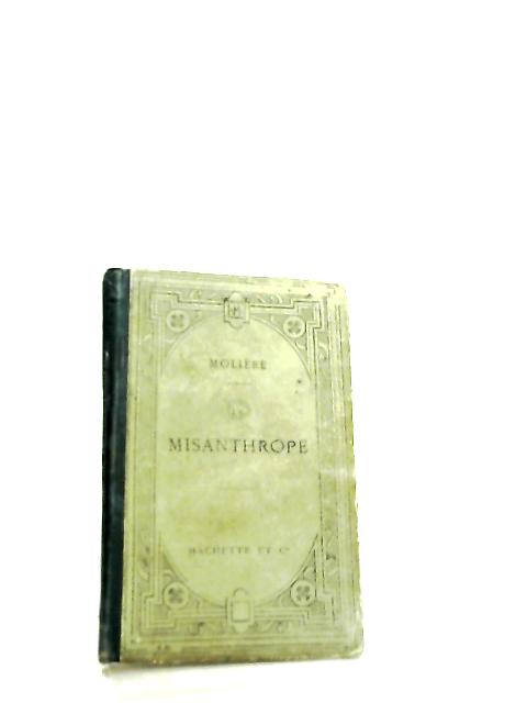 Le Misanthrope, Comedie by G. Lanson