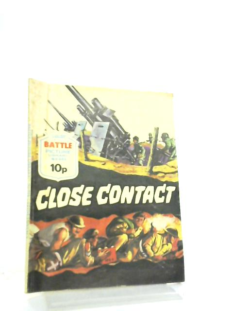 Battle Picture Library No 984 Close Contact By Anon
