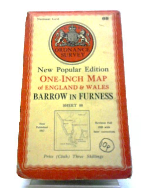 Ordnance Survey Map Of Barrow In Furness : Sheet 88 by Ordnance Survey Map Of Barrow In Furness