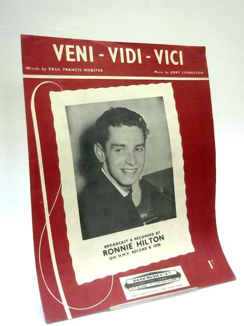 Veni-Vidi-Vici by Paul Francis Webster