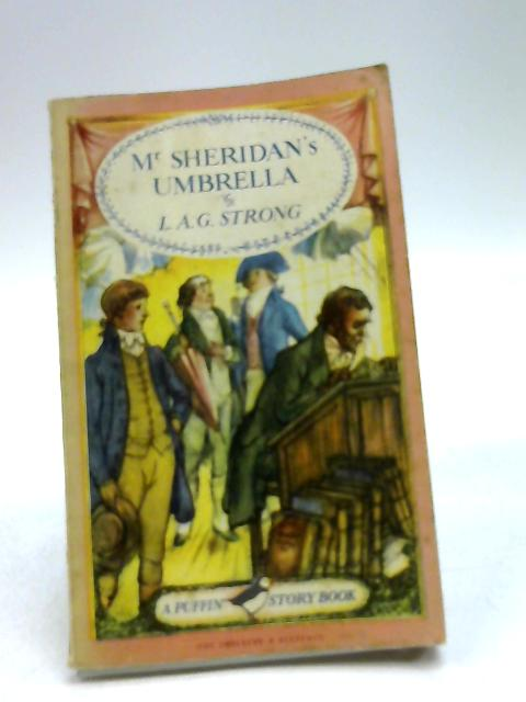 Mr Sheridan's Umbrella by Strong, L A G