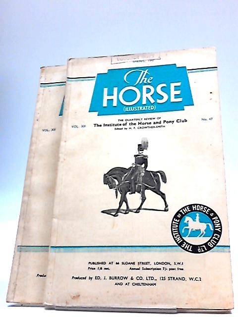 The Horse Illustrated 2 Issues Spring Summer 1941 by H F Crowther Smith