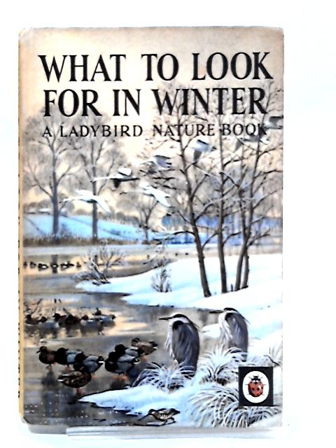 What To Look For In Winter by Watson, E L Grant
