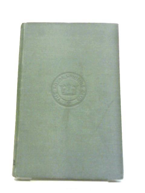 The Royal Cruising Club Journal Season 1922 by Club Chambers