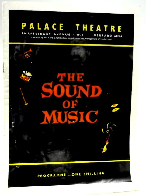 The Sound of Music Programme by Palace Theatre