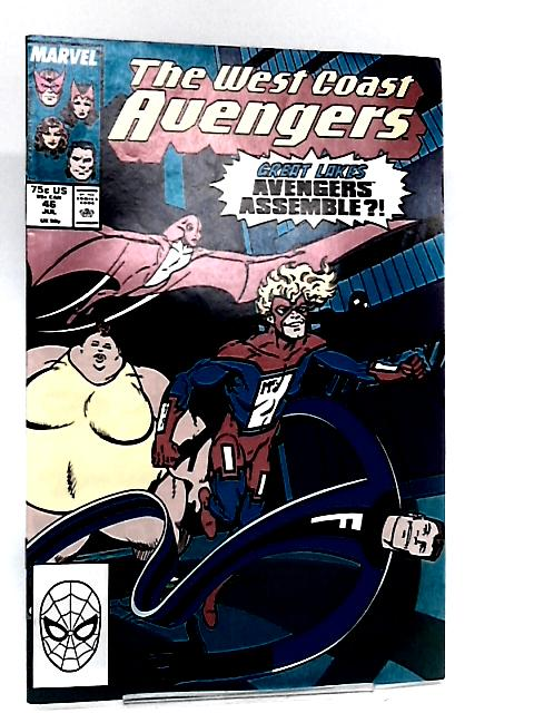 The West Coast Avengers, Vol. 2, No. 46, July 1989 by John Byrne