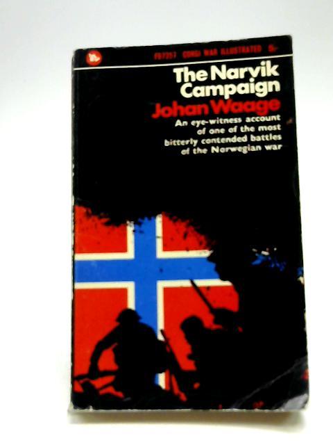 The Narvik Campaign (Corgi Books) by Waage, Johan