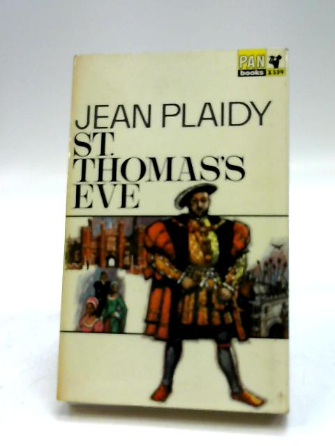 St. Thomas's Eve by Plaidy, Jean